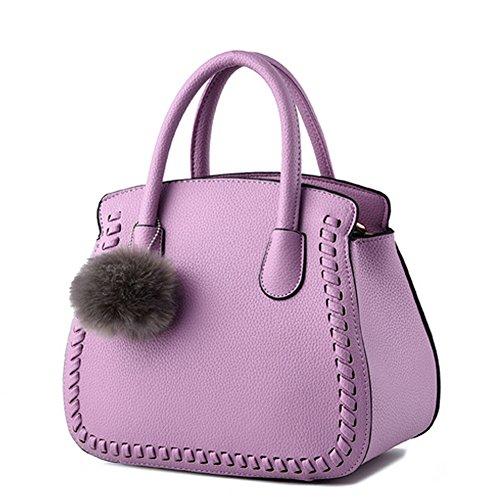 Donna Bag Borse Viola AVERIL borsa Handbag Spalla a Borsa G Tote mano Bag a Shoulder C560nw
