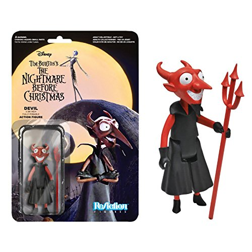 The Devil Action Figure: Funko x Super 7 x The Nightmare Before Christmas ReAction Series