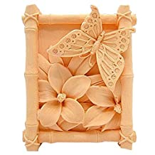 Lingmoldshop Butterfly Craft Art Silicone Soap mold DIY Candy mould Craft Molds Handmade Candle molds