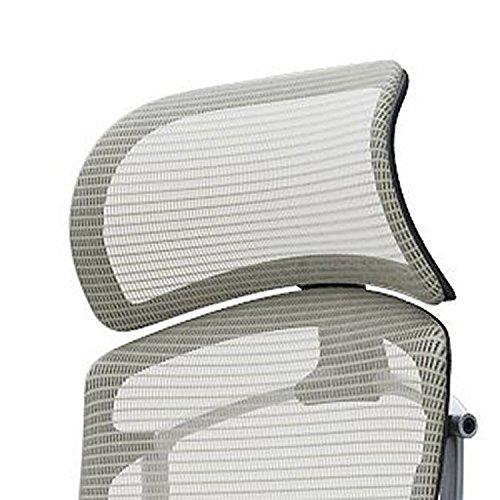 オカムラ デスクチェア オフィスチェア コンテッサ セコンダ オプションパーツ 大型固定ヘッドレスト ブラック CC501W-FSP1 B0711XR28W ブラック|ホワイト ブラック