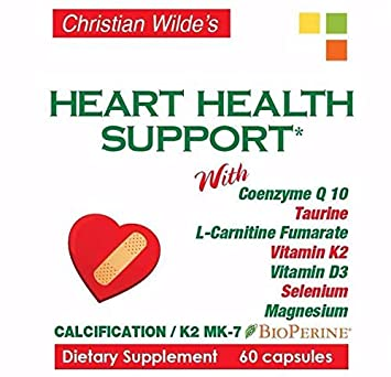 Christian Wildes Heart Health Support (4 statin and Non statin Users)