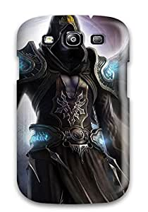 Hot HIxqNjr7055EgaLn Sepheroth Fantasy Awesome Angel Shadow Abstract Fantasy Tpu Case Cover Compatible With Galaxy S3