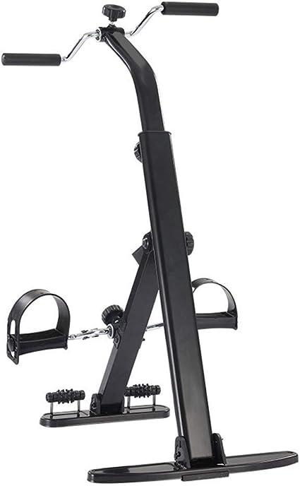 OKSS Mayor Ejercitador Pedal para Brazo Pierna Rodilla Bicicleta Ejercicio con Monitor LCD Rodillo Masaje Pies Resistencia Ajustable Equipo Rehabilitación Física: Amazon.es: Deportes y aire libre
