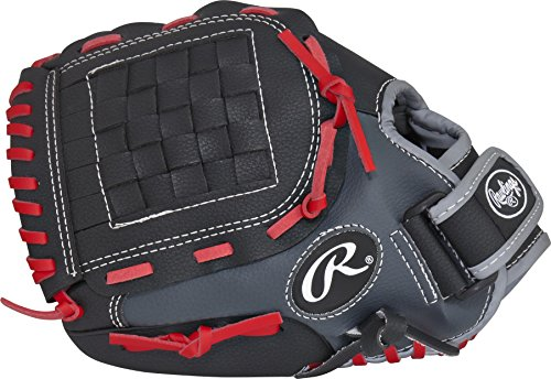 Rawlings Players Series Youth Baseball Glove, Right Hand, Basket-Web, 11 (Nationals Player Series)