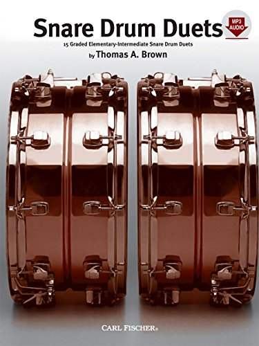 Snare Drum Duets - The Competition Collection - Book & (Competition Drum)