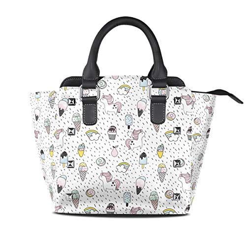 icorn Womens fashion Handbags Shoulder Bags Handle Satchel ()