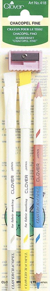 Clover - Set di 3 matite Chacopels 418