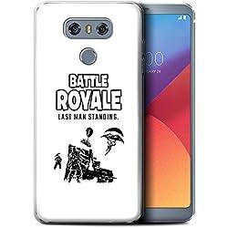 STUFF4 Gel TPU Phone Case/Cover for LG G6/H870/LS993/VS998 / Last Man Standing Design/FN Battle Royale Collection