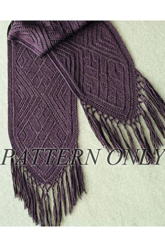 Faina's Lace Scarf in sport weight *Pattern* - Sport Weight Knitting Patterns