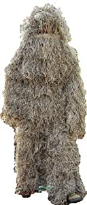 Bulls-eye Ghillie Suit (Mossy, Med/Large) - ONE Year Warranty!