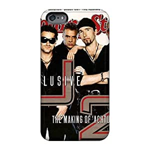Anti-Scratch Hard Phone Case For Iphone 6 (Ykp17259FJuQ) Allow Personal Design High Resolution U2 Series