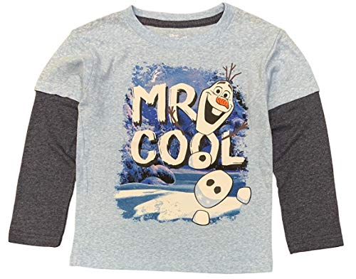 Disney Frozen Little Boys' Toddler Olaf Long Sleeve Tee