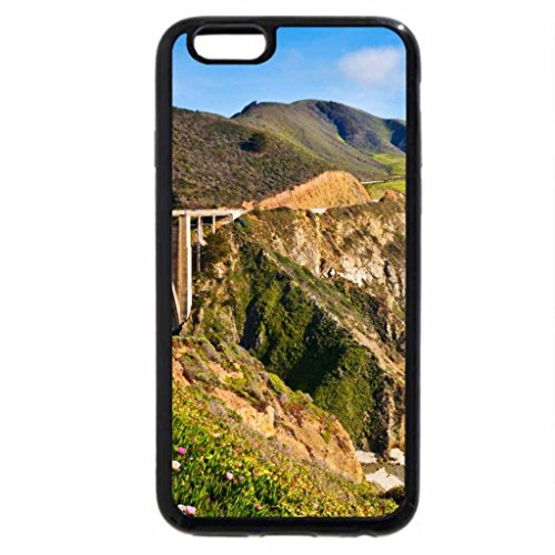 iPhone 6S / iPhone 6 Case (Black) Bixby Bridge In Big Sur California