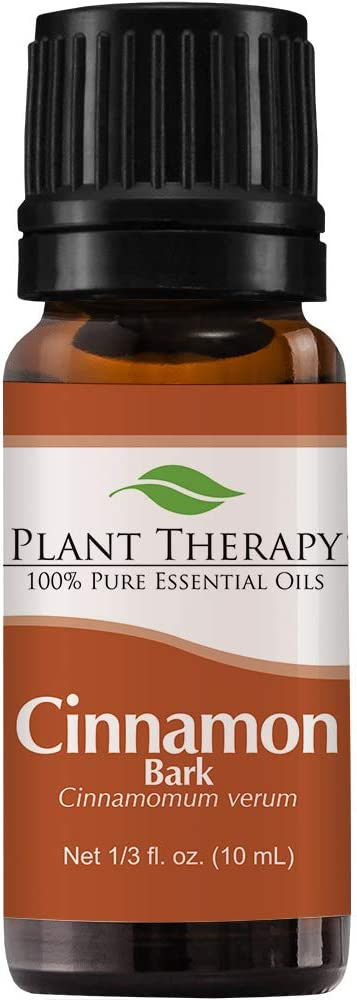 Plant Therapy Cinnamon Bark Essential Oil 10 mL (1/3 oz) 100% Pure, Undiluted, Therapeutic Grade