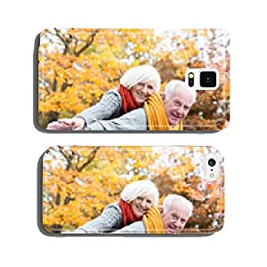 Couples Bestager in forest cell phone cover case Samsung S6
