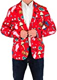 Men's A Christmas Story Leg Lamp Fragile Holiday Suit Coat and Tie By Festified (48)