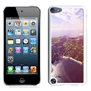 NEW Unique Custom Designed iPod Touch 5 Phone Case With Sunny Day Over Port City_White Phone Case