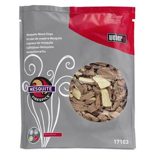 Weber 17103 Mesquite Wood Chips, 3-Pound (Smoker Mesquite Chips compare prices)