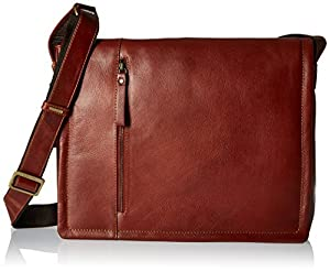 Visconti Vt-5 Soft Leather Vintage Messenger Bag Holds 14-Inch Laptop by Visconti Luggage
