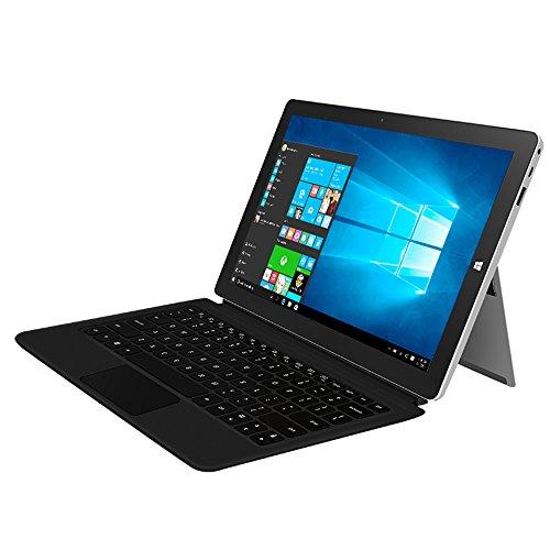 Jumper EZpad 6 Plus 2-in-1 11.6″ FHD IPS Touch-Screen Laptop, Intel Apollo Lake N3450 Processor, 6GB DDR3L 64GB eMMC Windows 10 HDMI Bluetooth 802.11 b/g/n (with keyboard, Silver)