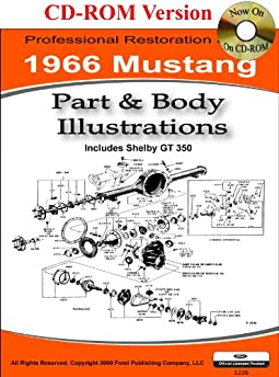 1966 Colorized Mustang Wiring Diagrams