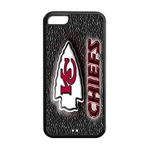 Custom Kansas City Chiefs NFL Series Back Cover Case for iphone 5C JN5C-1170