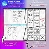 SmartyPlans Dry Erase Weekly Extra Thick Magnetic