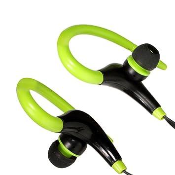 Auntwhale Conexión auxiliar Bluetooth para auriculares deportivos Bluetooth, indicaciones de voz, reducción inteligente de ruido, reproducción de música, ...