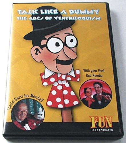 Loftus International Talk Like a Dummy Dvd the Art of Ventriloquism with Bob Rumba Novelty Item by Loftus International