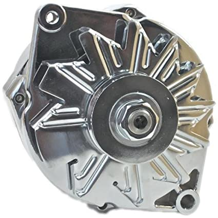 amazon com chevy gm 100 amp 1 wire internal alternator chromeimage unavailable image not available for color chevy gm 100 amp 1 wire internal alternator