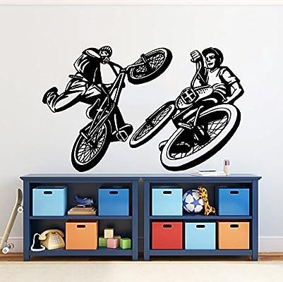 Para pared de longitud ajustable de ciclista para bicicleta BMX ...