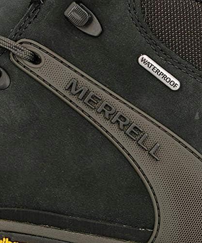 メンズ ハイキングシューズ スニーカー カメレオン8レザーミッドウォータープルーフ 軽量 防水 カジュアル トラベル ウォーキング CHAMELEON 8 LEATHER MID WATERPROOF J033097