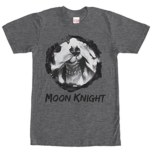 Marvel Moon Knight Paint Smudge Print Mens Graphic T Shirt ()