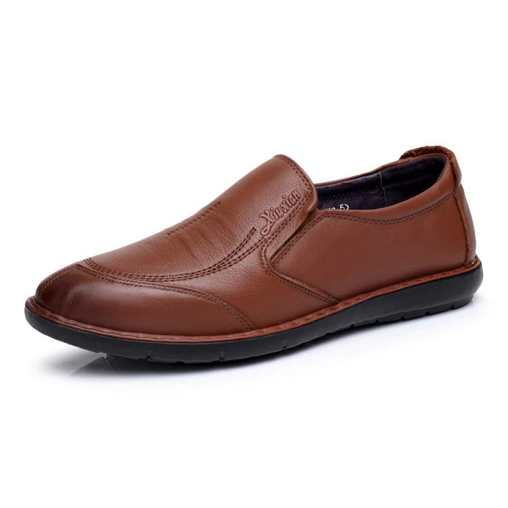 Zapatos Cómodos para Hombres Juegos De Pies Zapatos Ocasionales Ocasionales Zapatos Bajos Antideslizantes 39 EU|Brown
