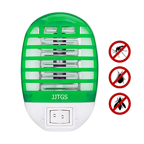 JJTGS Bug Zapper, Electronic Insect Killer Mosquito Killer Lamp, Eliminating Most Flying Pests! -Night Lamp -green
