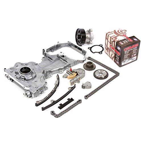Fits 02-06 Nissan Sentra Altima 2.5 DOHC 16V QR25DE Timing Chain Kit Oil Pump GMB Water Pump