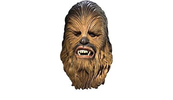 Rubies - Star Wars Latex Mask Chewbacca (máscara/careta): Amazon.es: Juguetes y juegos