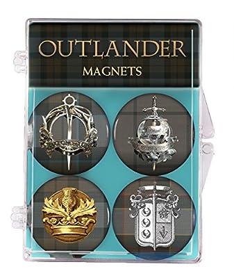 Dark Horse Deluxe Outlander Magnets (4 Pack)