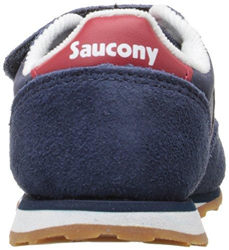 Saucony Jazz Hook & Loop Sneaker (Toddler/Little Kid), Black/Green, 4 M US  Toddler