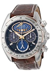 Citizen Men's AV3006-09E The Signature Collection Eco-Drive Moon Phase Flyback Chronograph Watch