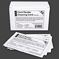 50 Pack of Credit Card Terminal Point of Sale Alcohol Cleaning Cards - Micros, Aloha, PC America, Aldelo & Any POS Swipe Terminal That Accepts Credit Cards!