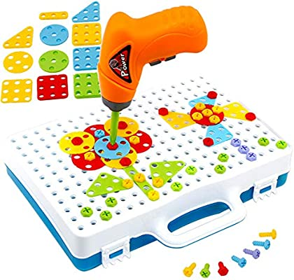 Amazon Com Newbegin Drill Play Creative Educational Toy With Real