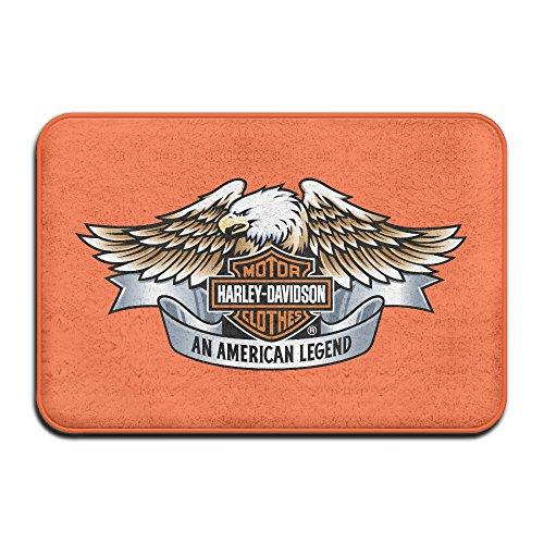 Fengziya Harley Davidson Doormats / Entrance Rug Floor Mats - Harley Davidson Bathroom Rugs