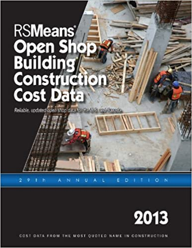 RSMeans Open Shop BCCD 2013 (Means Open Shop Building Construction Cost Data)