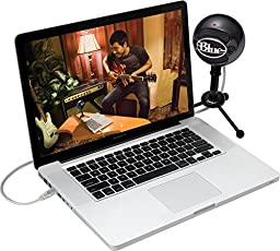 Blue Microphones  Snowball USB Microphone, Cardioid Mode(Gloss Black)