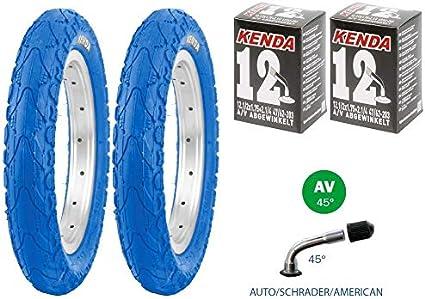 62-203 2x Reifen 12 1//2 x 2 1//4 Kenda 850 2x Schlauch AV abgewinkelt