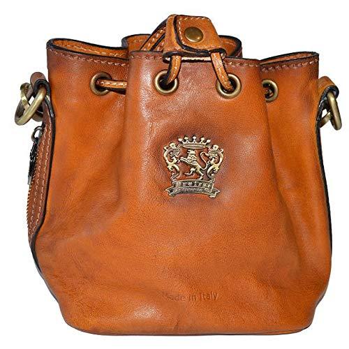 Pratesi Sorano borsetta piccola a sacco - B501/15 Bruce (Chianti) Marrone