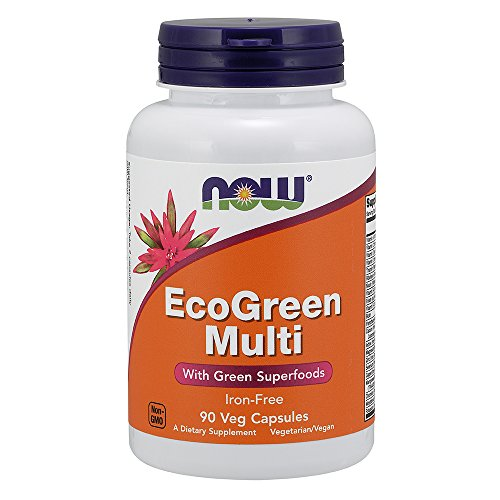 NOW Eco-green Multi,90 Veg Capsules