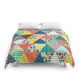 Society6 Llama Geo Triangles Comforters Queen: 88'' x 88''
