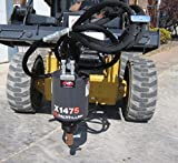 Skid Steer Loader X1475 Auger / Post Hole Drive Unit Attachment